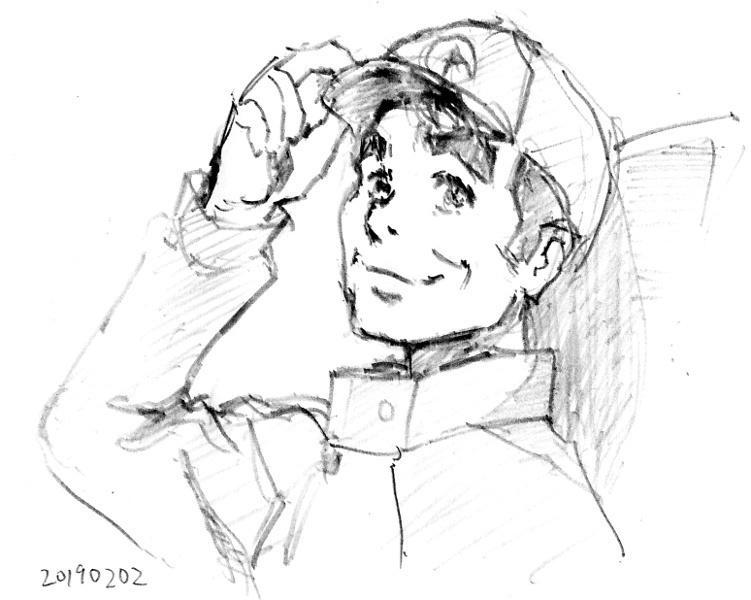 ハイスピード #よりもい 9話は迎千秋船長。アニメで美少女になるおっさんは多いがアニメでおっさんになる女性はさほど多くない。